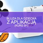 Bluza z aplikacją Disneya (5h)